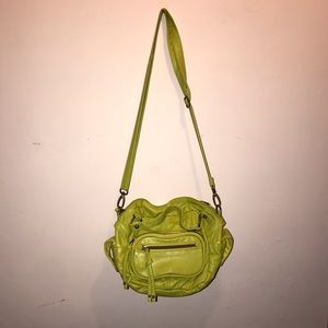 Small Green/Yellow Purse